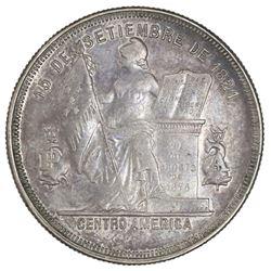 Honduras, silver 50 centavos, 1884.
