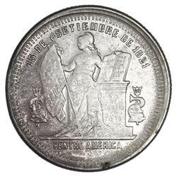 Honduras, silver 25 centavos, 1883.