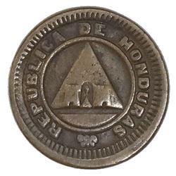 Honduras, bronze 1 centavo, 1911, CENTAVO without S.