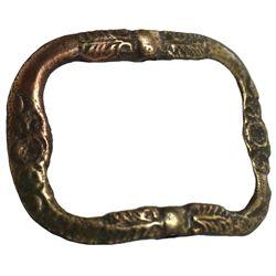 Brass buckle, ex-Association (1707).