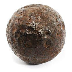 Small iron cannonball, intact, ex-1715 Fleet.