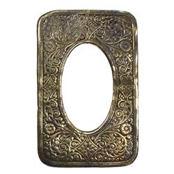Small, ornate, rectangular photo frame, ex-Royal Charter (1859).