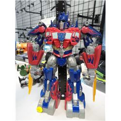 "Optimus prime 11"" Tall transformer"