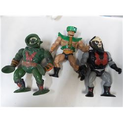 Vintage Heman Action Figures 1980s
