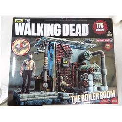 Walking Dead Boiler Room Construction Set