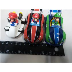 Ninetendo Super Mario Carts 1:43 scale Pull Cars