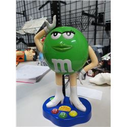 Green M&M Dispenser