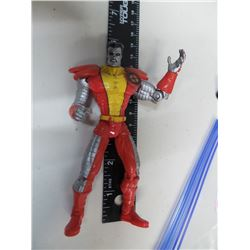 1997 Marvel Rare Action Figure Colossus Xmen