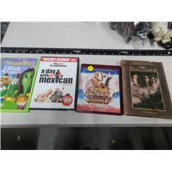 4 DVD movies