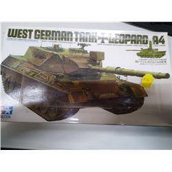 Tamiya West German Tank Model Sealed in saran wrap Vintage