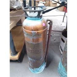 Vintage Copper Fire Extingisher
