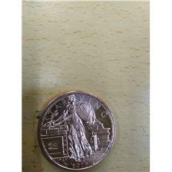 Zombie Bucks, 1oz Copper Coin