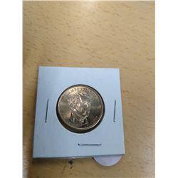Uncirculated James Monroe Dollar Coin