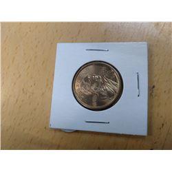 2001 Sacagawea Dollar Coin Nice Toning