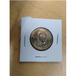 Uncirculated Thomas Jefferson Dollar Coin