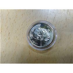 Uncirculated John Quincy Adams Dollar Coin