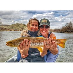 1 Day of Guided Fly Fishing for Two on the North Platte