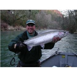 3day/4night Oregon Steelhead Fishing trip for two - 2022