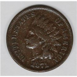 1871 INDIAN CENT