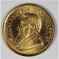1982 1/4 OZ .999 KRUGGERAND
