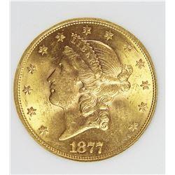 1877-S $20 GOLD LIBERTY