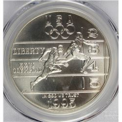 1995-D TRACK AND FIELD DOLLAR
