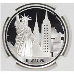 2017 NIUE $2.00 NEW YORK