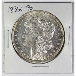 1882-O/S MORGAN SILVER DOLLAR