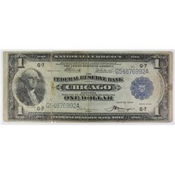 1918 $1.00 FEDERAL RESERVE BANK