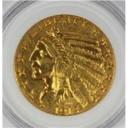 1913 $5.00 INDIAN GOLD