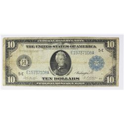 1914 $10.00 RICHMOND FEDERAL RESERVE NOTE