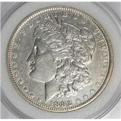 1882-O MORGAN SILVER DOLLAR