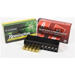 45 Rounds Mixed 7mm Remington Magnum Ammunition