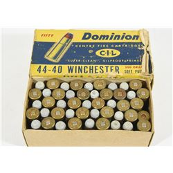 47 Rounds Dominion 44-40 Win in Vintage Box