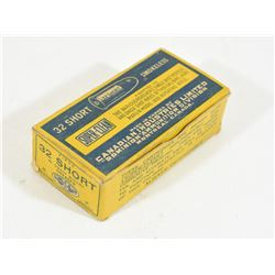 50 Rounds CIL 32 RF Short in Vintage Box