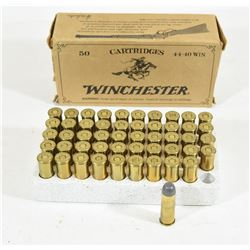 50 Rounds Winchester 44-40 225 Grain FN Ammunition