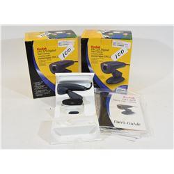 Two New Kodak DVC325 Video Cameras