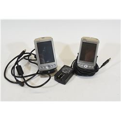 Two Garmin iQue GPS & PDA