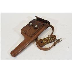 "Mauser Broomhandle Holster for 4"" Barrel"