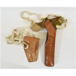 Two Shoulder Holsters
