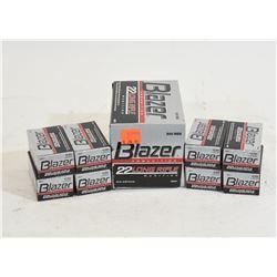900 Rounds Blazer .22 Cal. Long Rifle 40 Gr. RN