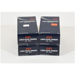 4000 CCI Large Pistol Primers #300