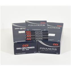 2400 CCI Small Rifle Primers #400