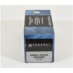 700 Federal Small Pistol Primers #100