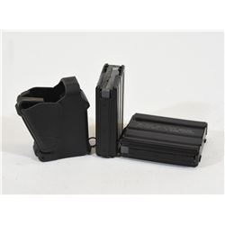 Two LAR15 Pistol Mags & an Uplula