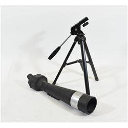 Unknown Spotting Scope and Tripod