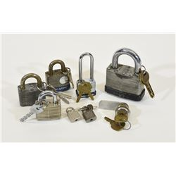 Pad Locks with Keys