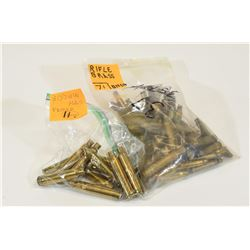82 Pieces Mixed Rifle Brass
