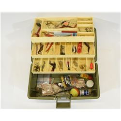 Old Pal Tackle Box with Some Lures & Gear