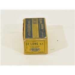 50 Rounds CIL 32 Long RF in Vintage Box